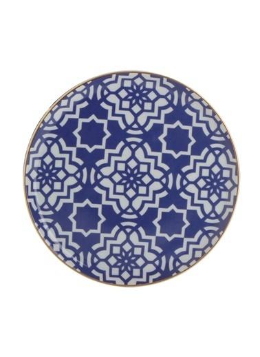 Porland Morocco Düz Tabak Mor 20cm Mor